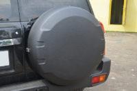 Защита начесных аксессуаров внедорожника Nissan Patrol полимерным покрытием Line-X от сколов, ударов и царапин
