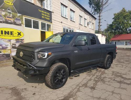 Line-X — защитное покрытие для пикапа Toyota Tundra