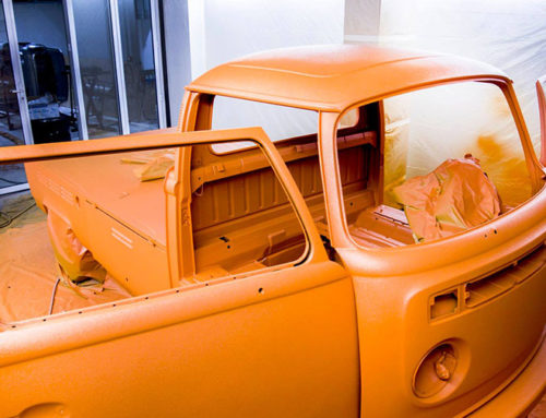 Volkswagen T2 в Line-X, не для хиппи
