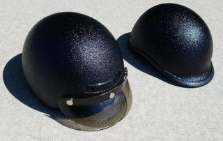 Защита шлема для мотоциклам ,мопед, скутера от механических повреждений и царапин полимерным покрытием Line-X