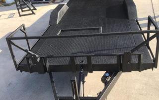Защита автоприцепа покрытием Line-X