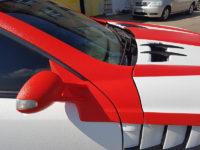 Mercedes SLR защищенный полимерным покрытием Line-X