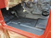 Реставрация внедорожника с будкой при помощи защитного покрытия Line-X