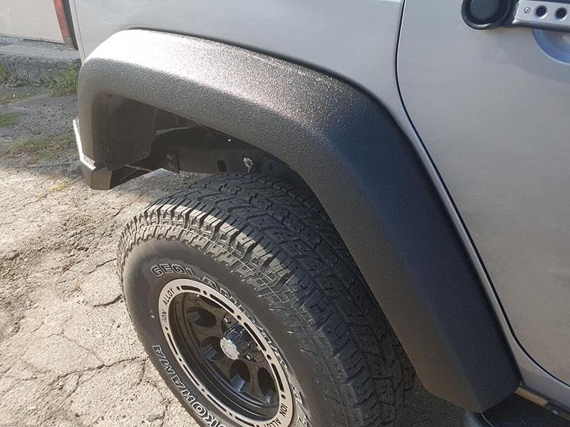 Защита наиболее уязвимых мест автомобиля покрытием Line-X