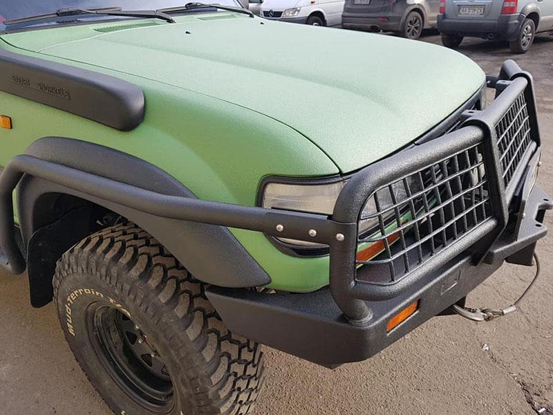 Восстанавливаем Toyota Land Cruiser в Line-X после Раптора