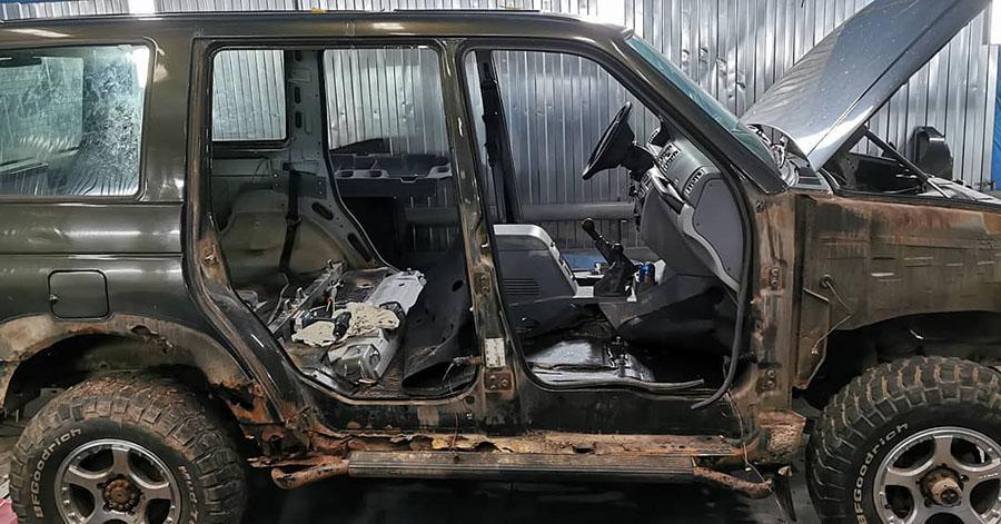 Полимерное покрытие Line-X - самая надежная защита от ржавчины кузова автомобиля