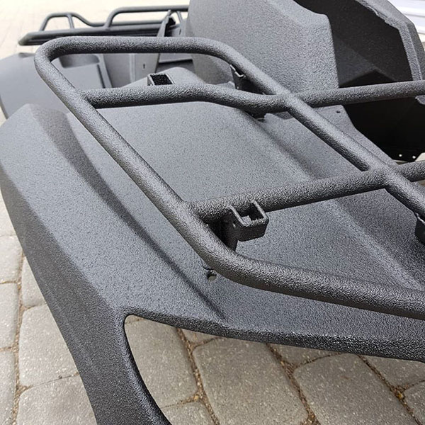 Защита квадроцикла покрытием Line-X