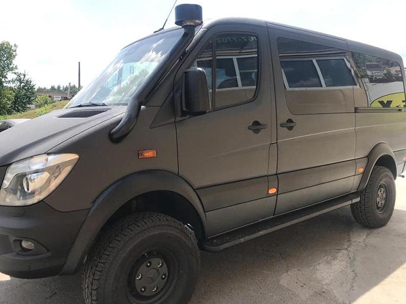 Фургон для зомби-апокалипсиса