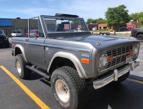 Легендарный Ford Bronco и Line-X