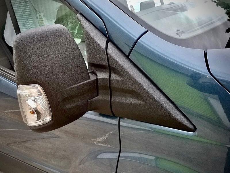 Защита обвеса Ford Transit полимерным покрытием Line-X