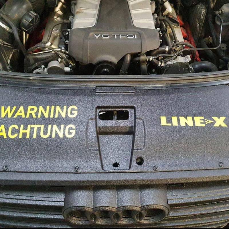 Line-X не только для внедорожников