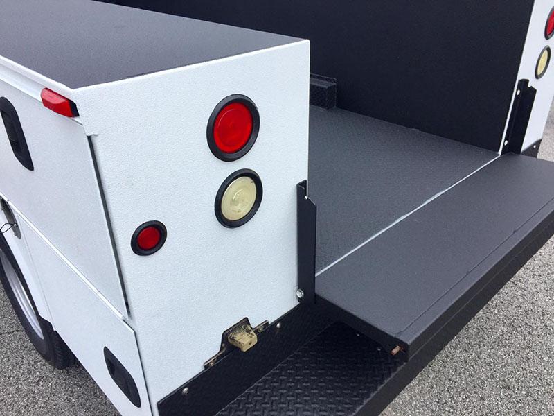 Ремонт сервисного кузова пи помощи Line-X после 10ти лет хранения на открытом воздухе