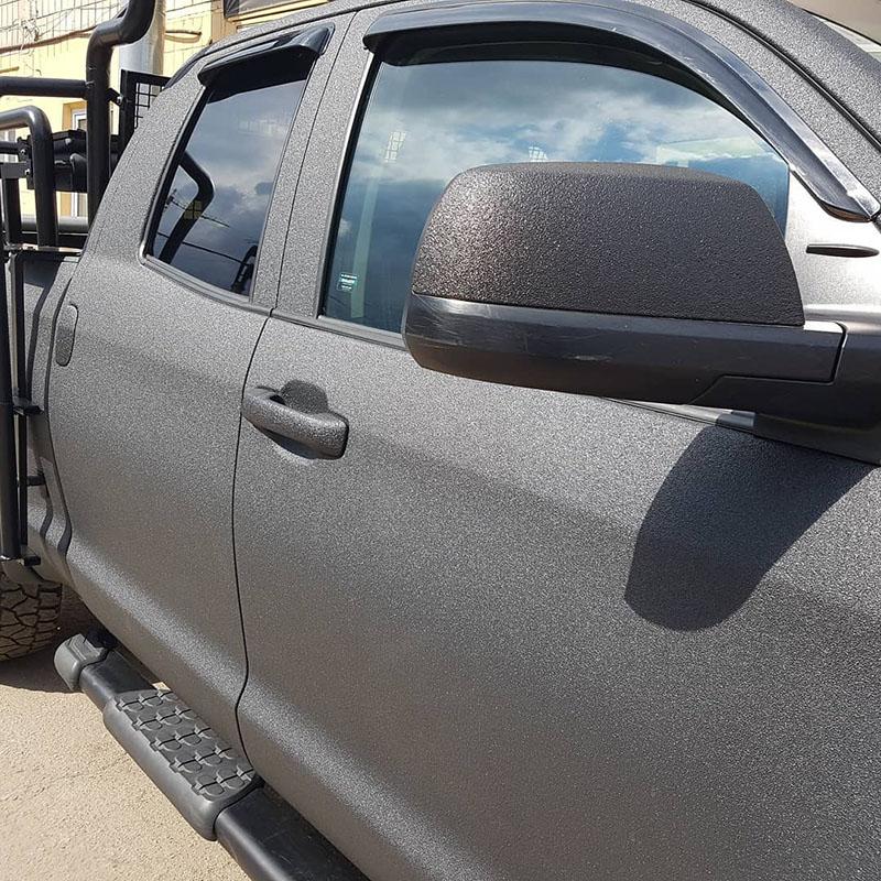 Ремонт Toyota Tundra после неудачной покраски в Раптор