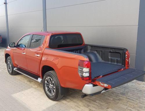 Защита багажника Mitsubishi L200