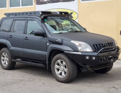 Toyota Prado 120 для охоты