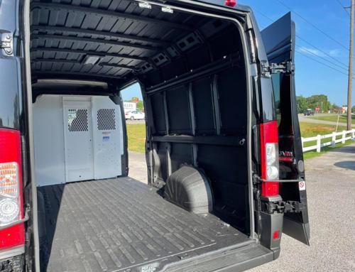 Надежная защита грузового отсека фургона?