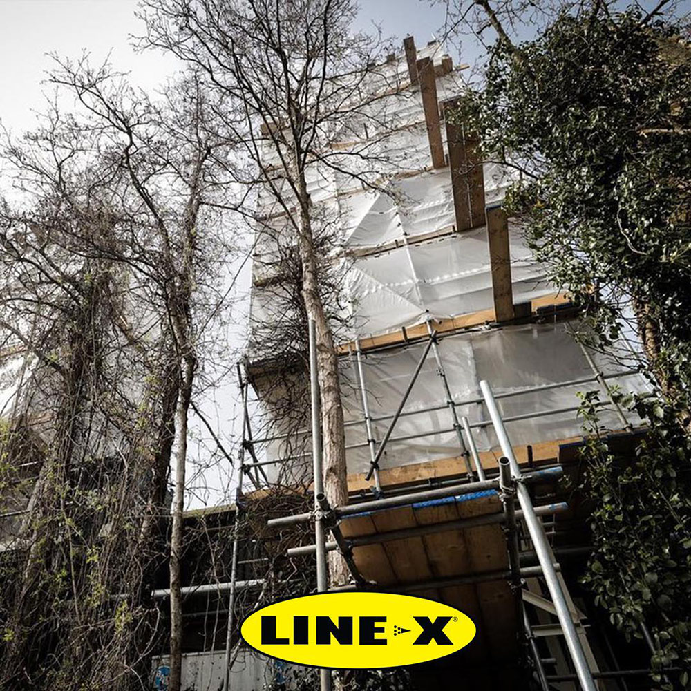 Line-X – надежная защита силосных башен
