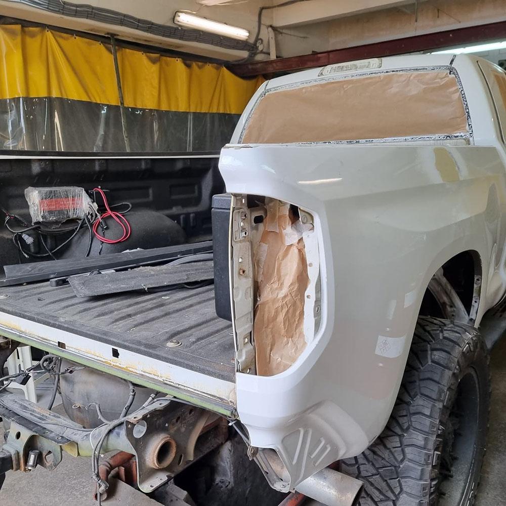 Содрали кожу с Toyota Tundra Devolro