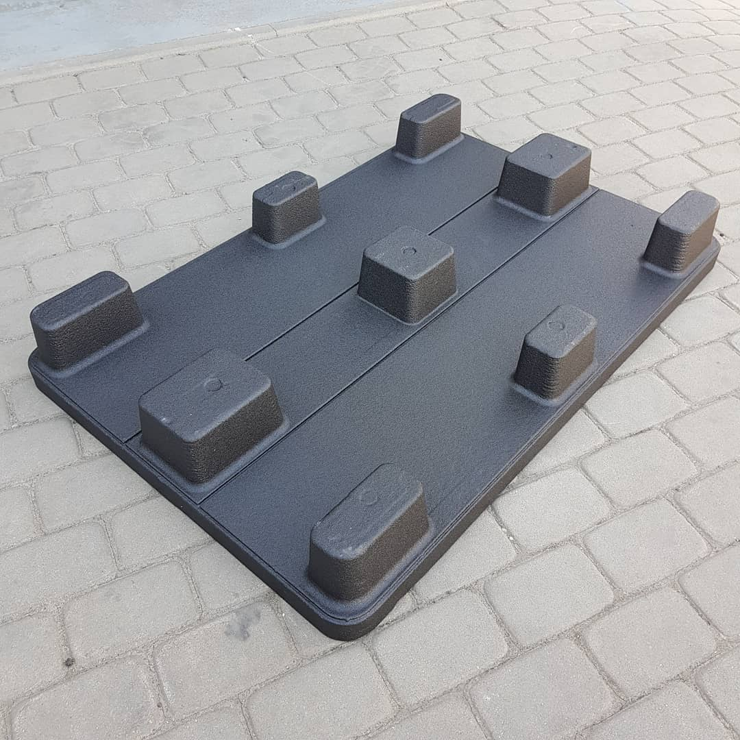 Прочные водонепроницаемые европоддоны c защитным покрытием Line-X